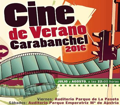 Cines de Verano en Carabanchel, en otros barrios y pueblos de Madrid