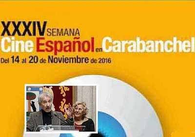 Jose Sacristan Premio Puente Toledo en la Semana del Cine Español en Carabanchel
