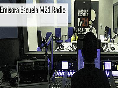"""M21, la Emisora Escuela del Ayuntamiento de Madrid o """"Radio Carmena"""""""