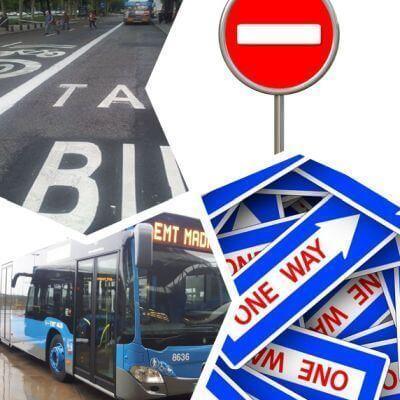 Carriles-bici, nuevas paradas bus, y sentidos unicos de Av Oporto y Valle de Oro