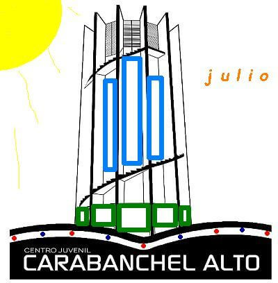 Actividades del Centro Juvenil de Carabanchel en Julio
