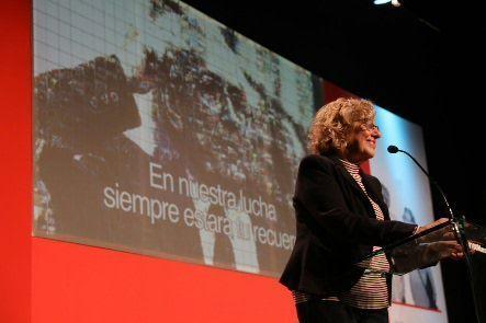 Carmena promete estatua, paseo y placa de Marcelino Camacho
