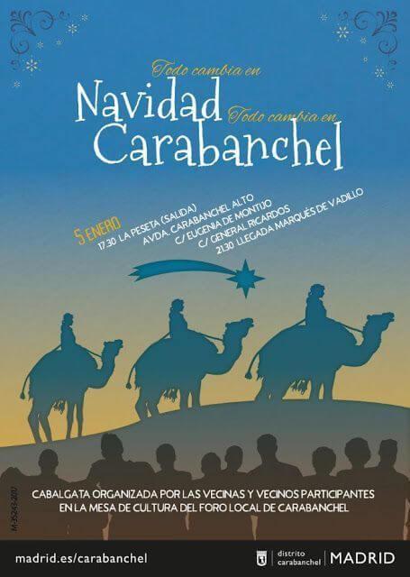 Cabalgata Reyes Magos Carabanchel