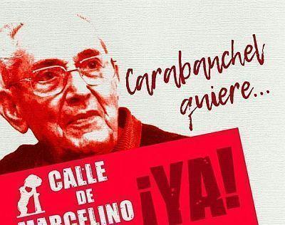 La Fundación Francisco Franco esta paralizando la Calle Marcelino Camacho