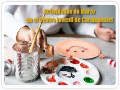 Actividades en Marzo del Centro Juvenil de Carabanchel