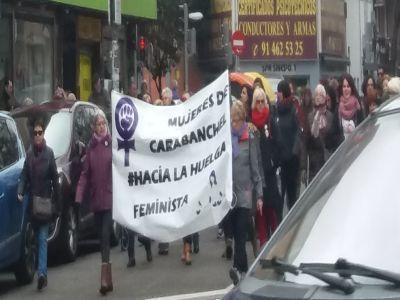Carabanchel con el día internacional de la mujer
