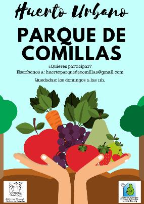 Parque de Comillas, un huerto nuevo en Carabanchel