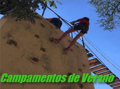 Campamentos gratuitos multiactividad 2018 de Carabanchel