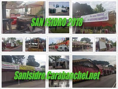 Mañana comienzan las Fiestas de San Isidro 2018