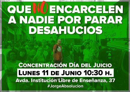 #JorgeAbsolucion
