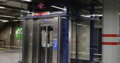 La estación de metro de Plaza Elíptica disfrutará en breve de cinco nuevos ascensores