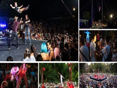 El Parque Emperatriz María de Austria fue un homenaje al amor y a la cultura underground gracias al circo