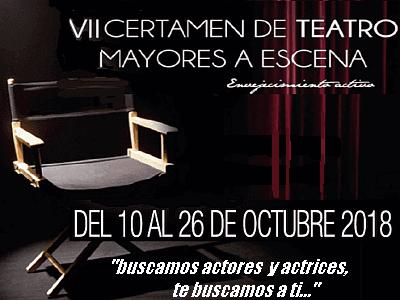 "VII Certamen de ""Mayores a Escena"" en Carabanchel, del 10 al 26 de Octubre"