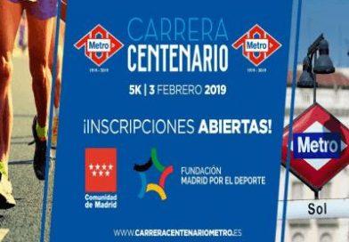 """Abierto el plazo para participar en la """"Carrera Centenario"""" del Metro de Madrid"""