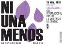 25 de noviembre Día Internacional para la Eliminación de las Violencias Machistas