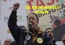 Las Asociaciones de Vecinos homenajean a Paco Caño en el 50 aniversario de la FRAVM