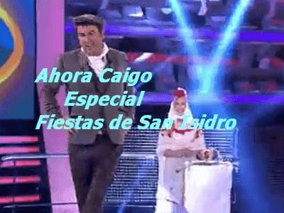 """Este Lunes en Ahora Caigo de Antena3, especial """"Fiestas de San Isidro"""", con participación de vecinos del barrio"""