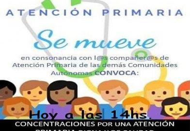 Hoy a las 14hs. concentraciones ante los centros de salud