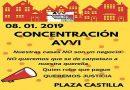 Manifestación para evitar el archivo de la causa penal por la venta de viviendas del IVIMA