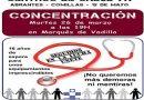 Mañana manifestación en Carabanchel por los 3 centros de salud prometidos