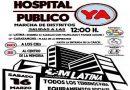 Marcha por la construcción del hospital público en los terrenos de la cárcel de Carabanchel