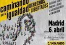 Este sábado en Madrid, manifestación para pedir 'igualdad, derechos y libertades'
