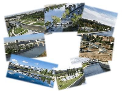 Parque Madrid Río, Parque Lineal y Río Manzanares
