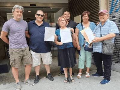 alegaciones y firmas