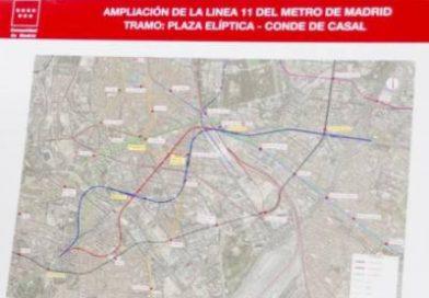 La L11 de metro tendrá cuatro estaciones y un intercambiador más según la CAM