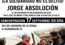 En Septiembre juzgaran al compañero y vecino Jorge Aranda por intentar parar un desahucio