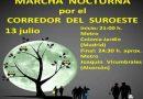 13 de julio: Marcha Nocturna por el corredor ecológico del suroeste y vía verde Leganés-Alcorcón-Aluche