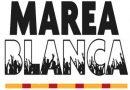 """""""Seguimos en pie denunciando el deterioro"""" de la sanidad pública, 82ª Marea Blanca"""