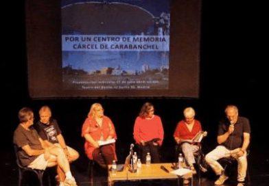 """Presentación de la Plataforma Ciudadana por un Centro de Memoria """"Cárcel de Carabanchel"""""""