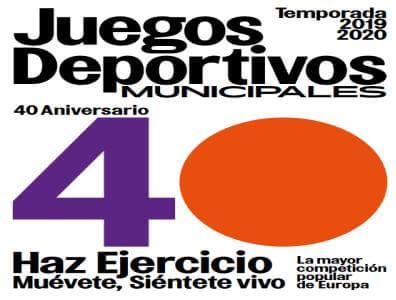 40 Juegos Deportivos Municipales