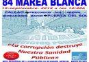 """15 septiembre, 84 Marea Blanca: """"la corrupción destruye nuestra sanidad pública"""""""