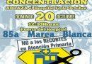 """85 Marea Blanca bajo el lema """"Abrazo al hospital 12 de octubre"""", hoy a las 12,30hs"""
