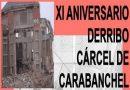 XI aniversario del derribo de la cárcel de Carabanchel