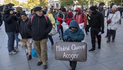 Migrantes solicitantes asilo Ayuntamiento - 5