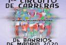 En el Parque de las Cruces dará comienzo el 1er Circuito de Carreras de Barrio de Madrid