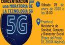 Hoy 25 de enero, movilización internacional por una moratoria a la implantación del 5G