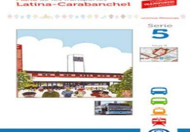 Nuevos planos del transporte público en Latina-Carabanchel y Madrid