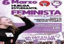 """6-M: una huelga estudiantil """"contra la violencia machista y la educación franquista"""""""