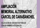Mañana domingo 9 de Febrero, Ampliación del Memorial Alternativo en los terrenos de la Cárcel de Carabanchel