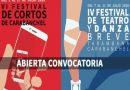 IV Festival de Teatro y Danza Breve y VI Festival de Cortos de Carabanchel
