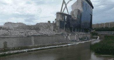 Ecologistas denuncia ante la Confederación del Tajo los vertidos al Manzanares de las obras del estadio Calderón