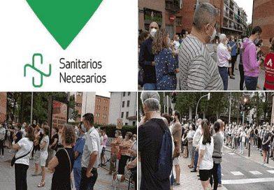 Lunes de concentraciones en Madrid, en apoyo a la sanidad pública frente a hospitales y centros de salud