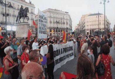 Denuncian represión y atropello policial en la manifestación republicana en Madrid [Vídeos y fotos]