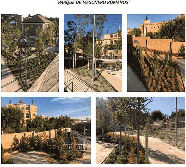 parque de mesonero romanos